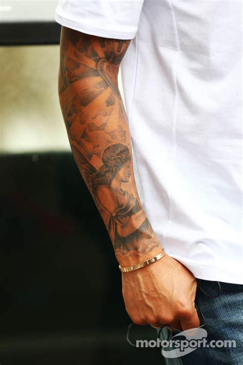 tattoo prices hamilton the tattooed arm of lewis hamilton mercedes amg f1 at