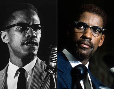 denzel washington malcolm x glasses denzel washington malcolm x the best biopic roles of all