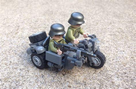 Lego Motorrad Mit Beiwagen by Deutsches Motorrad Mit Beiwagen Lego