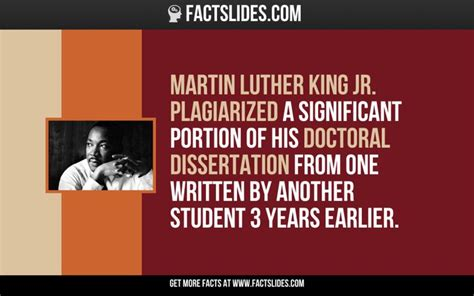 martin luther king dissertation martin luther king jr plagiarized a significant portion