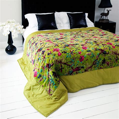 trippy bedding trippy granny pyschedelic bird of paradise bedspread