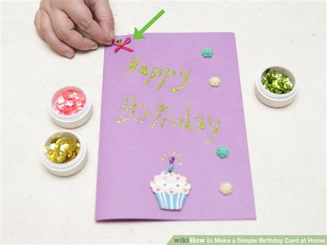 birthday cards how to make at home how to make cards how to make a birthday card 4 ways to