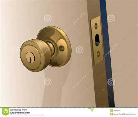 How To Open A Door Knob by Door Knob On Door Stock Photo Image 36852040