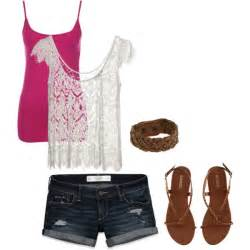 cute summer polyvore