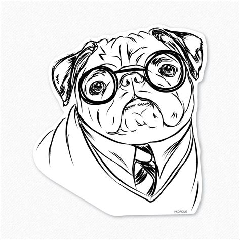 Printable Pug Coloring Pages Coloring Home Pug Coloring Pages