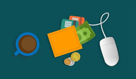 fotos gratis billetera digital raton  wallet banco