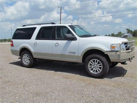 how it works cars 2007 ford expedition el engine control sell used 2007 ford expedition el eddie bauer sport utility 4 door 5 4l 4wd in austin texas