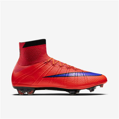 Nike Mercurial Superfly Fg Bright Crimson Flyknit nike mercurial superfly fg 641858 650 s soccer cleat