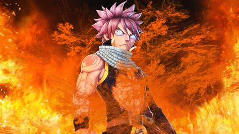 wallpaper keren fairy tail fairy tail natsu wallpapers wallpaper cave
