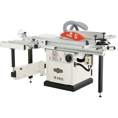 shop fox w1811 sliding table saw 10 quot