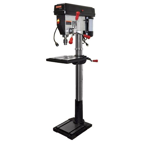 craftsman bench drill press craftsman 17 quot drill press with laser and led light shop