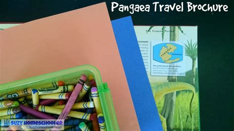 How To Make A Travel Brochure With Paper - pangaea travel brochure suzy homeschooler