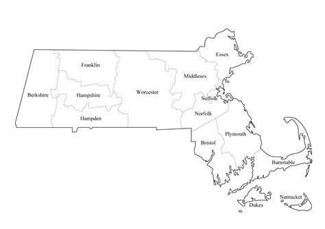 Northeast Map Outline by Graphics Us States Outline With County Lines County Names Maps Ask The Econsultant