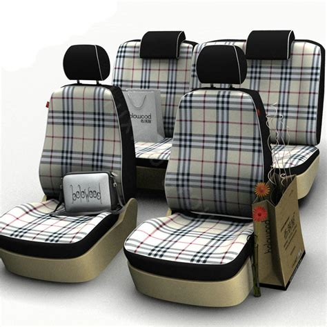 cloth car seat covers buy wholesale burberry customized cotton cloth auto car