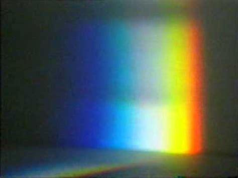 prism color light split into colours by a prism