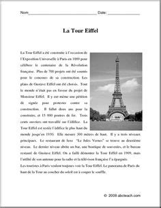 reading comprehension test in french 1000 images about la litteratie on pinterest