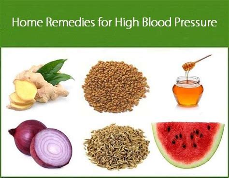 home remedies for high blood pressure healthinfi