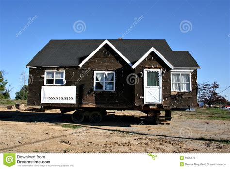 free houses to be moved house ready to be moved royalty free stock photos image