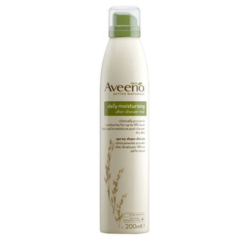 After Shower Moisturizer by Aveeno Daily Moisturising After Shower Mist Be Beautiful