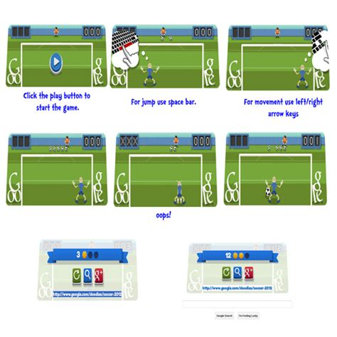 play doodle soccer 2012 2012 football an interactive animated