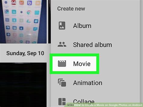 mov on android how to create a on photos on android 11 steps