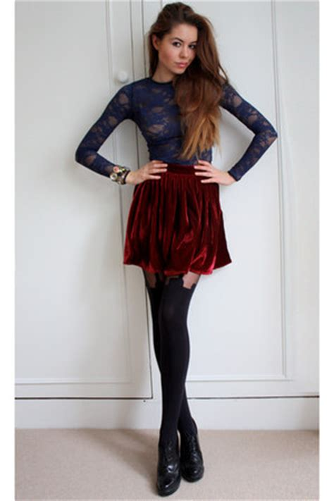Hh 769702leggings Black navy lace american apparel tops black hh tights quot lace n quot by jeliza rose chictopia
