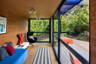 interior of shipping container homes sustainable shipping container house with a rooftop garden