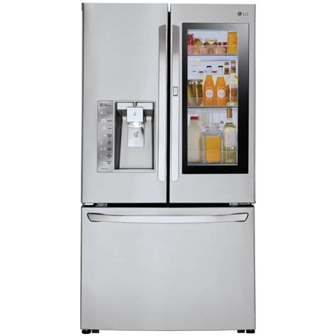 30 in door refrigerator lg lfxs30796s 36 quot door refrigerator with instaview