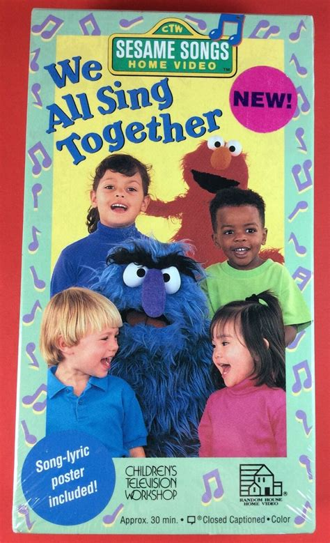 opening to sesame songs presents we all sing together
