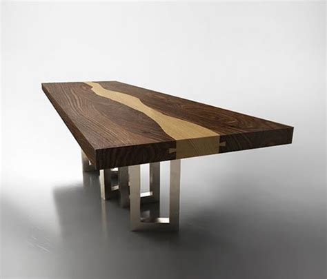 Dining Table Wood Design Walnut Wood Table By Il Pezzo Mancante Luxury Wood Table Design Aya Furniture
