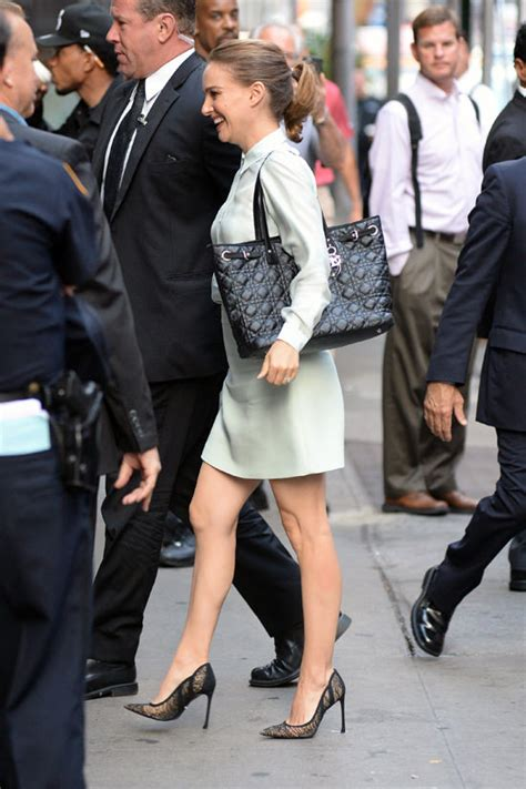 Natalie Portman Is Fashionable by Natalie Portman On Quot Morning America Quot Tom Lorenzo