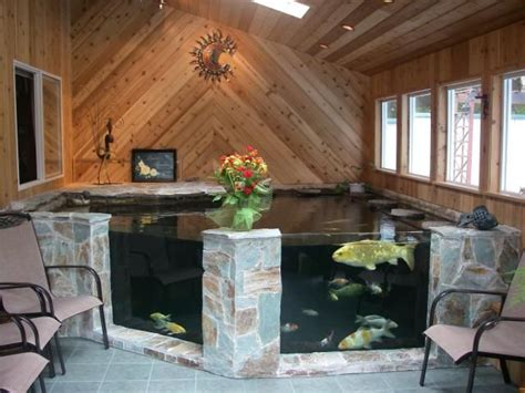 indoor fish pond best 25 indoor pond ideas on pinterest koi fish pond