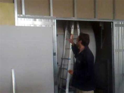 montare una porta scorrevole come montare una porta scorrevole nel cartongesso fai da