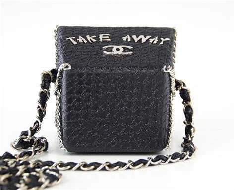 Take Away Box Bag From Os by Chanel Take Away Box Bag Limited Edition Runway
