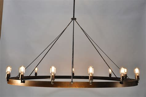 Lighting: Best Rustic Chandeliers Ideas With White Ceramic Floor And Small Windows For Family