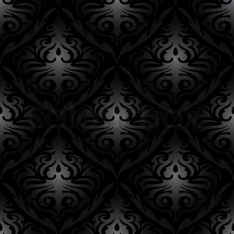 pattern black silk pack seamless black silk floral abstract wallpaper pattern