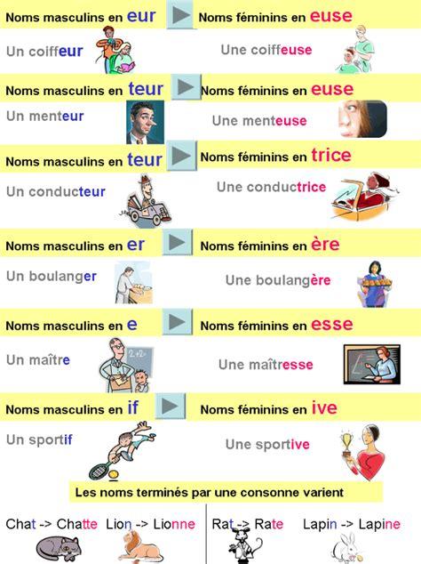 formation cuisine v馮騁arienne le feminin des noms 2 bonjour de sougueur