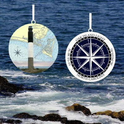 oak island christmas ornament lighthouse ornaments lovell designs jewelry in maine