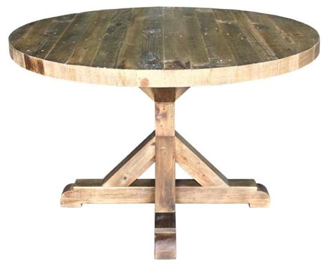 round kitchen tables bavaria harvest reclaimed wood round dining table