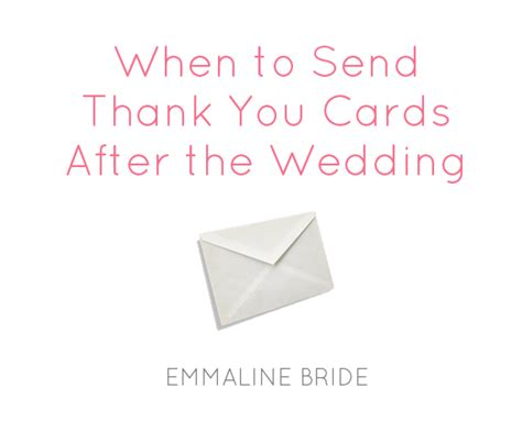 Do I Need To Write A Thank You Letter After A Phone When Do You Need To Send Thank You Cards Wedding