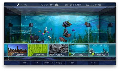 design your aquarium game aquarium app fills your apple tv with ai fish