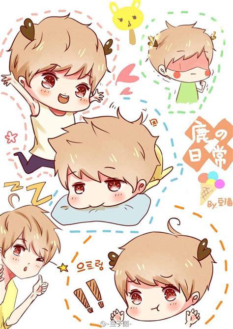 Exo Chibi Iphone Wallpaper | 21 best images about k pop fanart on pinterest so ji sub