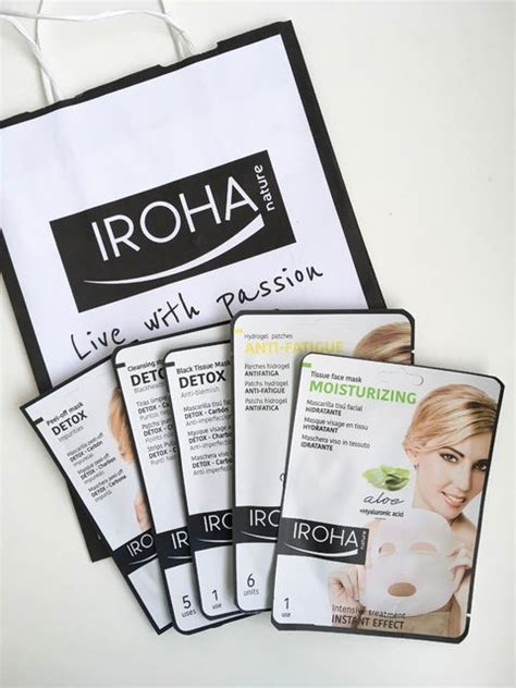Iroha Detox Mask by Iroha Nature Charcoal Tissue Facemask Review