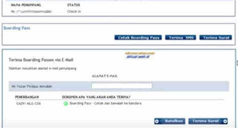 citilink garuda web check in cara web check in online garuda indonesia amadeus