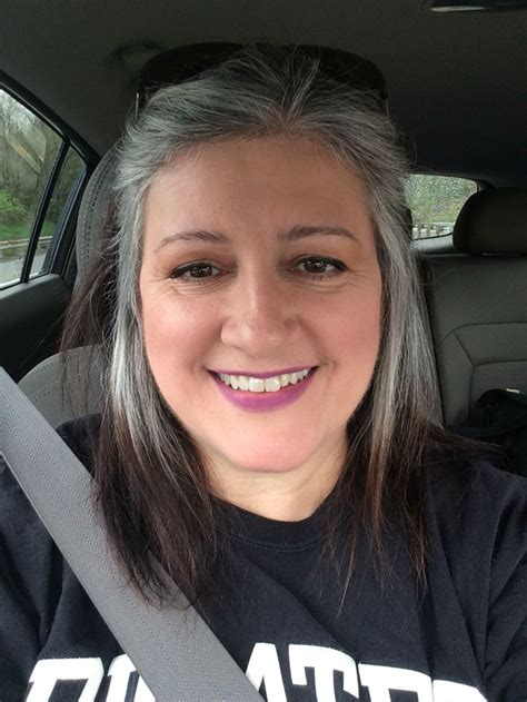 hispanic grey hair transition grey is the new blonde transitioning to gray hair grey