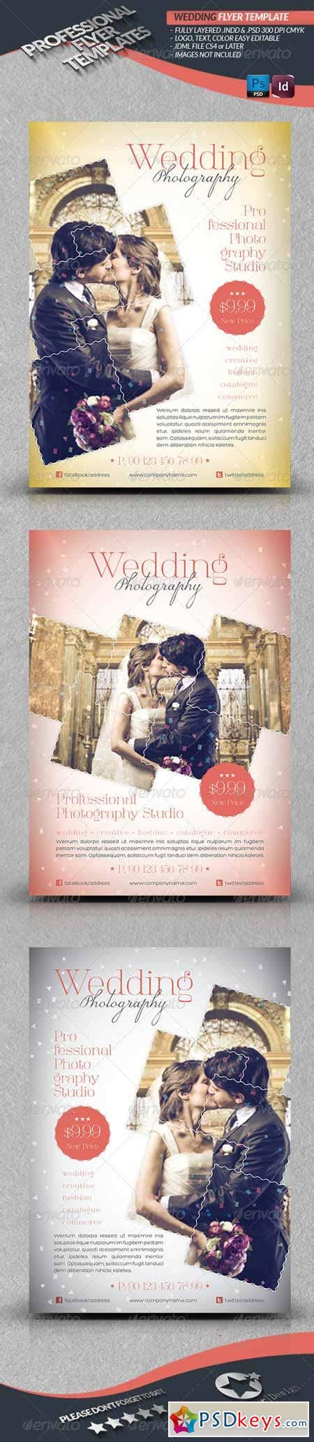 wedding photography flyer template 4291621 187 free download