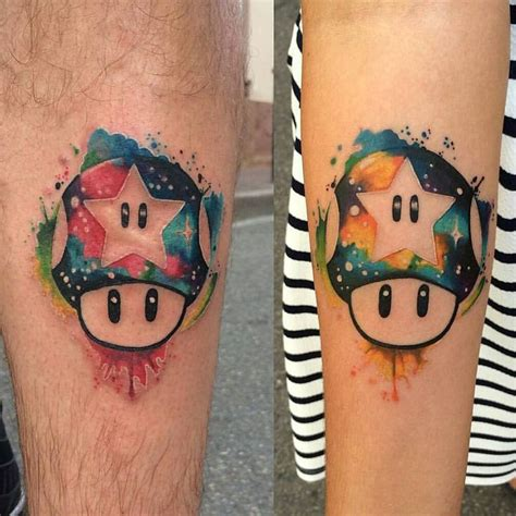 nintendo tattoos 17 best ideas about mario on nintendo