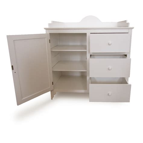 Baby Change Table Drawers Baby Changing Table Dresser Wood Shelf Drawers Mat Stable Safe Winding Tower Ebay