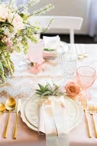 wedding wednesday pink gold