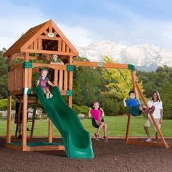swing and slide set kmart swing sets outdoor playsets kmart
